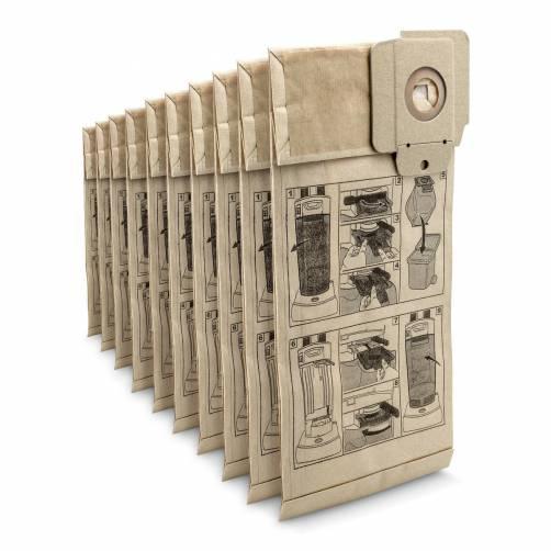 Бумажные фильтр-мешки, 10 шт.