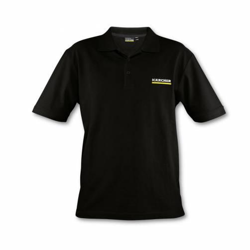 Мужская футболка поло антрацит XL