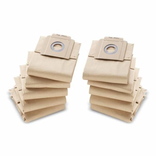 Бумажные фильтр-мешки Kaercher, 10 шт. 6.904-333.0